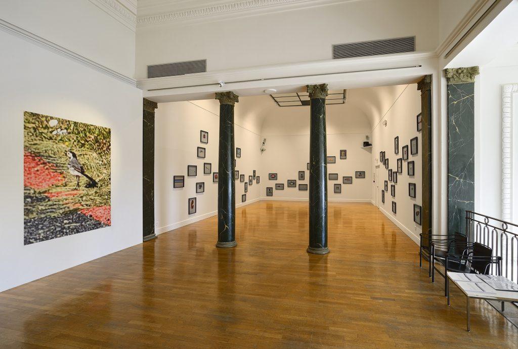 Aperçu de l'exposition Edith Roux - Traversées