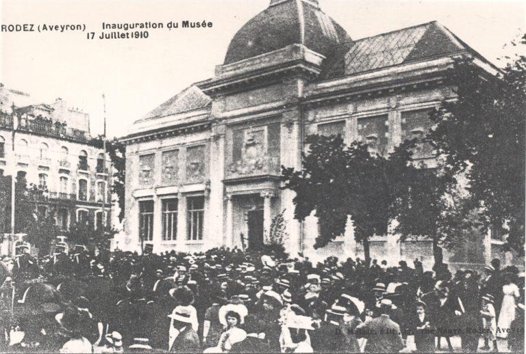 Inauguration du musée Denys Puech le 17 juillet 1910