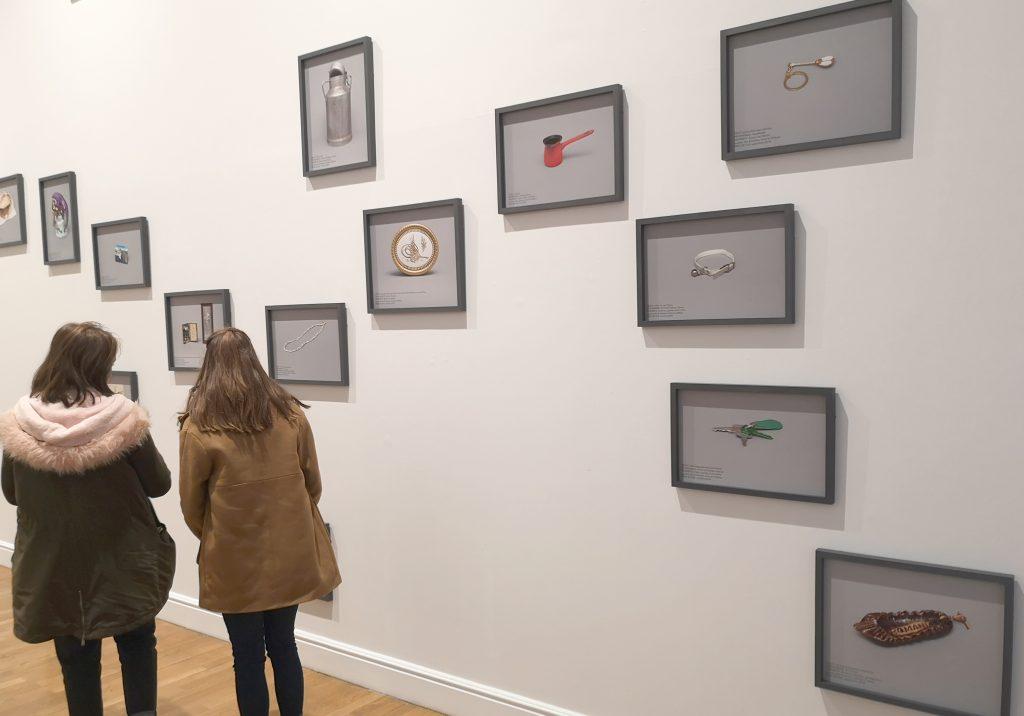 Visite de l'exposition Edith Roux