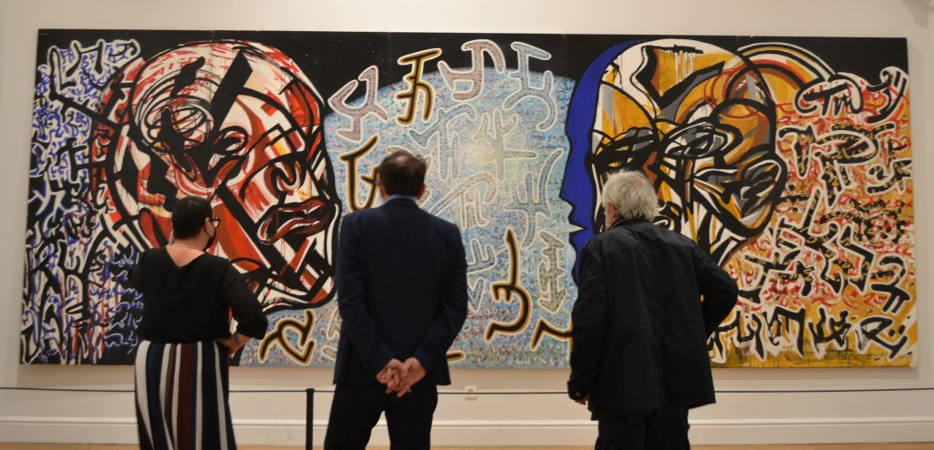 """Visite guidée de l'exposition temporaire Michel Batlle """"Face à faces"""""""